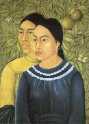 Frida Kahlo Two Women oil painting reproduction