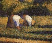 Georges Seurat The Countrywoman in the work oil painting