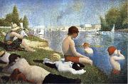 Georges Seurat Bathers of Asnieres oil painting