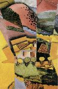 Juan Gris Landscape oil painting reproduction