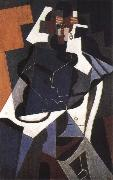 Juan Gris The fem portrait of the whole body