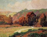 Maurice Braun Road to the Canyan