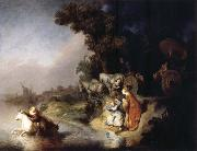 REMBRANDT Harmenszoon van Rijn The Rape of Europa oil painting reproduction