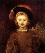 REMBRANDT Harmenszoon van Rijn Young Boy in Fancy Dress