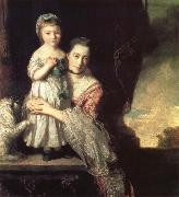 Georgiana,Countess spencer,and Her daughter Georgiana,Later duchess of Devonshire