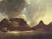 A View of the Cape of Good Hope,taken on the spot,from on board the Resolution,capt,coode,November 1772