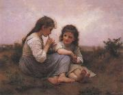 Adolphe Bouguereau Two Girls