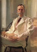 Cecilia Beaux Man with a Cat oil painting