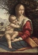 Cesare da Sesto Madonna and Child oil painting reproduction