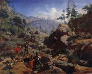 Charles Christian Nahl and august wenderoth Miners in the Sierras