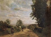 Corot Camille The road of sevres