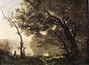 Corot Camille I remember of Mortefontaine