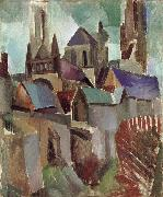 Delaunay, Robert Study of Tower oil painting