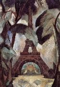 Delaunay, Robert Eiffel Tower oil painting