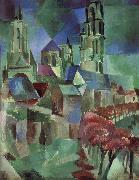 Delaunay, Robert Tower oil painting