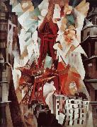 Delaunay, Robert Red Tower oil painting