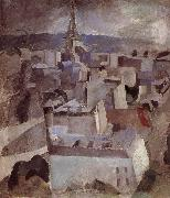 Delaunay, Robert Study for City oil painting