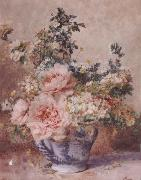 F.Rivoire Apple Blossoms with Peonies
