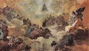 Francisco Goya Adoration of the Name of God by Angels oil painting