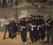 Edouard Manet,Execution of Maximillian
