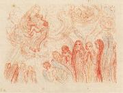 James Ensor The Adoration of the Virgin oil painting