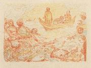 James Ensor The Miraculous Draft of Fishes oil painting