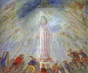 James Ensor Christ and the Afflicted oil painting