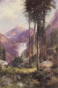 Thomas Moran Yosemite Valley,Vernal Falls