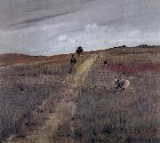 William Merritt Chase Landscape oil painting reproduction
