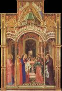 Ambrogio Lorenzetti The Presentation in the Temple oil painting reproduction