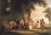 Dance on the Battery in the Presence of Peter Stuyvesant
