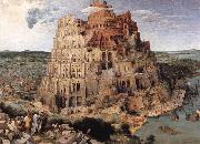 BRUEGEL, Pieter the Elder The Tower of Babel oil painting reproduction