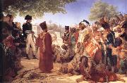 Baron Pierre Narcisse Guerin Bonaparte Pardoning the Insurgents in Cairo oil painting