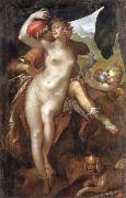 Bartholomaus Spranger Venus and Adonis