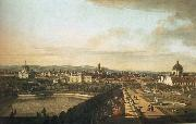Vienna,Seen from the Belvedere Palace