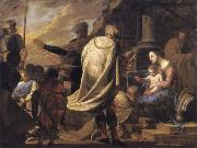 Bernardo Cavallino The adoration of the Magi oil painting reproduction