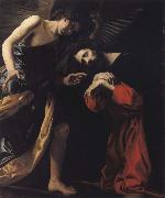 CRESPI, Giovanni Battista THE agony of Christ oil painting