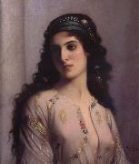 Charles Landelle Jewish Girl in Tangiers oil painting
