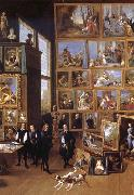 Archduke Leopold Wilhelim in his gallery in Brussels