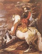 Gaspar de Guzman,Count-Duke of Olivares,on Horseback