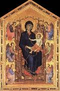 Madonna and Child Enthroned with Six Angels