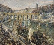 Ernest Lawson The Bridge oil painting