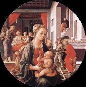 Virgin with the Child and Scenes from the Life of St Anne