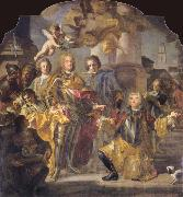 Charles VI and Count Gundaker Althann
