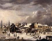 Francis Guy Winter Scene oil painting