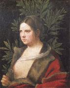 Giorgione Portrait of a young woman oil painting reproduction