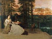 Lady on the Terrace