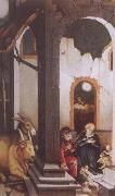 Hans Baldung Grien Nativity oil painting