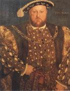Hans holbein the younger Portrait of Henry Viii oil painting reproduction