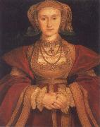 Portrait of Anne of Clevers,Queen of England
